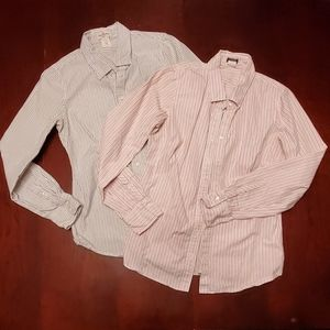 J. Crew women's button-up dress shirts, size small